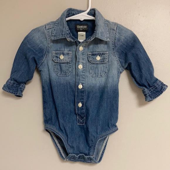 OSH KOSH B'GOSH Boys Jean Shirt